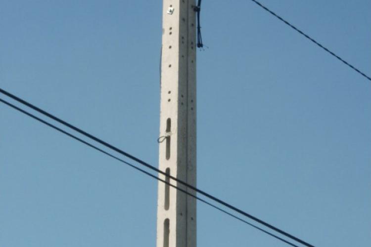 Słupy żeletowe SŻT-8,5 m - telekomunikacyjny