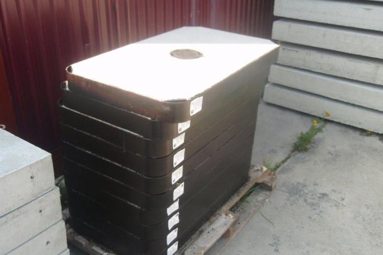 Pokrywa typ ciężki B-125 do studni kablowych