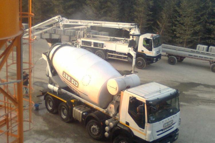 Transport betonu